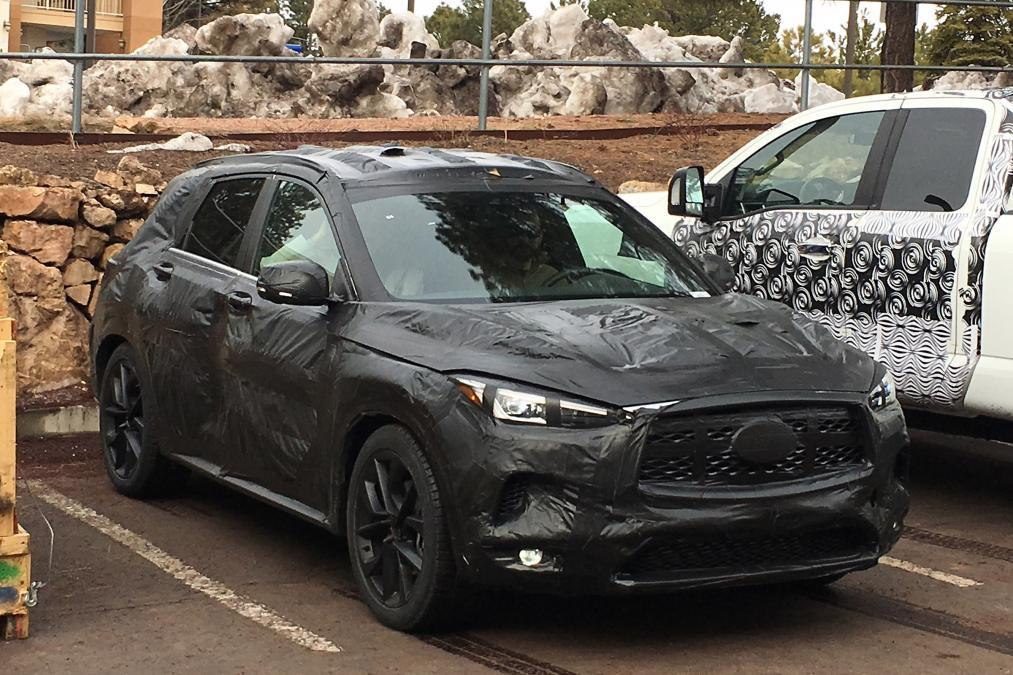 2019 Infiniti QX50 Dimensions Spy Photos