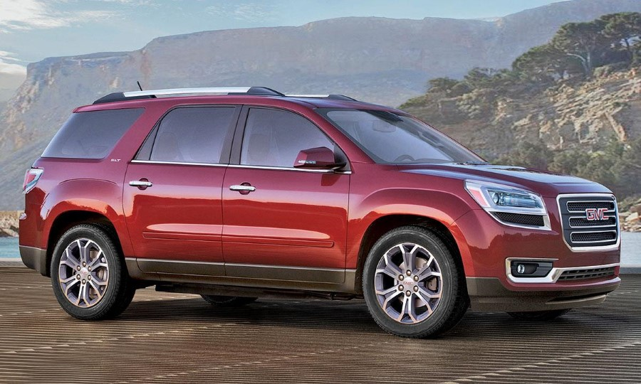 2019 GMC Acadia Dimensions Changes